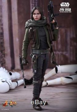 STAR WARS Rogue One Jyn Erso 1/6th Scale Action Figure MMS404 (Hot Toys) #NEW