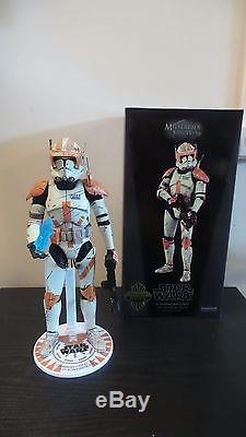 STAR WARS SIDESHOW EXCLUSIVE COMMANDER CODY 16 SIXTH SCALE 12 INCH FIGURE