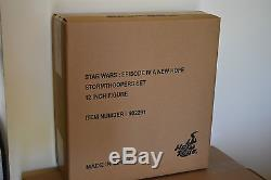 STAR WARS STORMTROOPERS figure set HOT TOYS MMS268 16 scale MIB