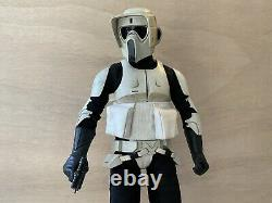 STAR WARS Scout Trooper Sideshow Collectables Sixth Scale Figure