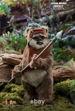 STAR WARS Wicket 1/6th Scale Action Figure MMS550 (Hot Toys) #NEW