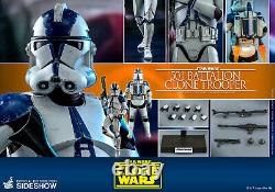 SW 501st Battalion Clone Trooper Sixth Scale Figure Normal Ver Hot Toys 906958
