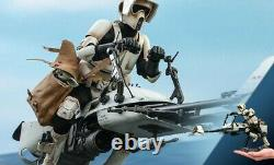 Scout Trooper and Speeder Bike Sixth Scale Figure Set by Hot Toys