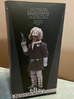 Sideshow 1/6 Scale Han Solo Hoth Figure Star Wars The Empire Strikes Back