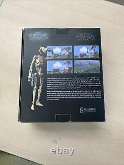 Sideshow 1/6 Star Wars Battle Droid OOM-9 Commander Sixth Scale Figure Hot Toys