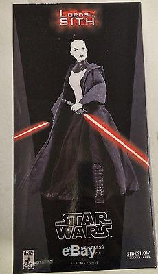 Sideshow Asajj Ventress 1/6 Scale Figure Star Wars Lords of the Sith