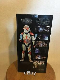 Sideshow Collectibles Commander Cody 1/6 Sixth Scale Action Figure Hot Toys