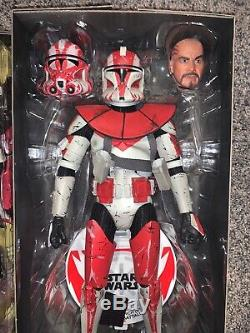 Sideshow Collectibles Commander Ganch Star Wars 1/6 Scale Action Figure