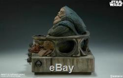 Sideshow Collectibles Jabba the Hutt and Throne Deluxe 1/6 Scale Figure Set