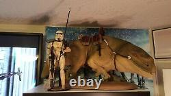 Sideshow Collectibles Militaries of Star Wars Dewback 1/6 Scale withSandtrooper