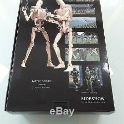 Sideshow Collectibles Star Wars BATTLE DROID 1/6 Scale figure set Not hot toys
