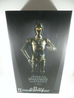 Sideshow Collectibles Star Wars C-3PO Premium Format Scale Figure JH