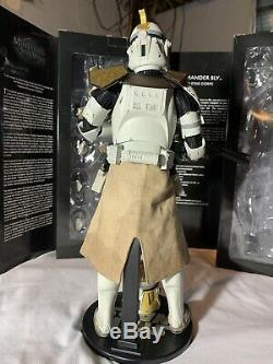 Sideshow Collectibles Star Wars Clone Commander Bly 1/6 Scale Figure
