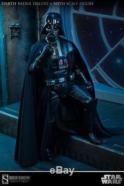 Sideshow Collectibles Star Wars Darth Vader Deluxe Sixth Scale Figure 1/6 Scale