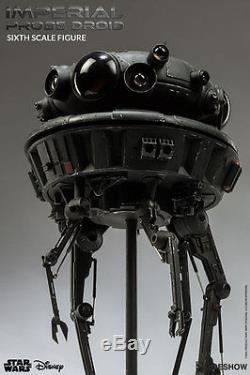 Sideshow Collectibles Star Wars Imperial Probe Droid HOTH Figure Sixth 1/6 Scale