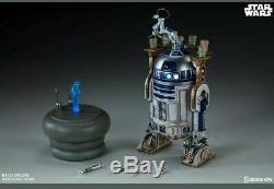 Sideshow Collectibles Star Wars R2D2 Droid 1/6 Scale Figure Deluxe brand new