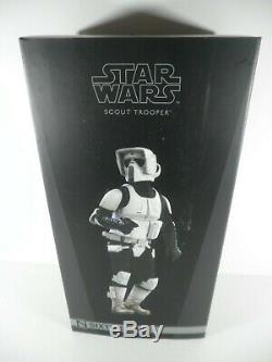 Sideshow Collectibles Star Wars Scout Trooper Sixth Scale Action Figure JH