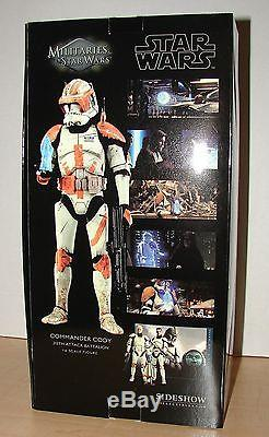 Sideshow EXCLUSIVE Star Wars CLONE COMMANDER CODY 16 Scale Figure