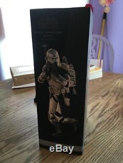Sideshow Hot Toys Star Wars Commander Wolffe Clone Trooper 1/6 Scale Figure