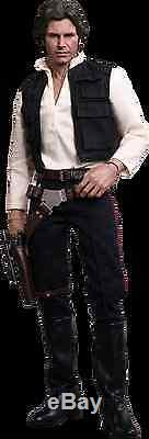 Sideshow Hot Toys Star Wars IV A New Hope Han Solo Figure 1/6th Scale New 2015