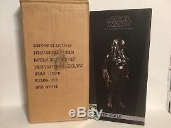 Sideshow Hot Toys Tie Pilot Exclusive 1/6 Scale Figure Star Wars