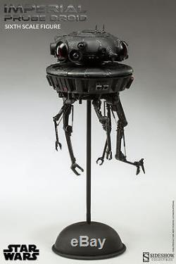 Sideshow IMPERIAL PROBE DROID SIXTH SCALE 2013 FIGURE STAR WARS SEALED MIB 1/6