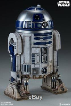 Sideshow R2-D2 Star Wars Deluxe 1/6 Scale Action Figure Brand New Double Boxed