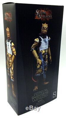 Sideshow Star Wars 1/6 Scale Action Figure Bossk Rare