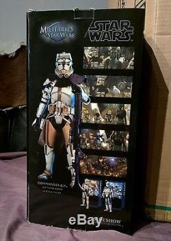 Sideshow Star Wars 1/6 scale Commander Bly figure