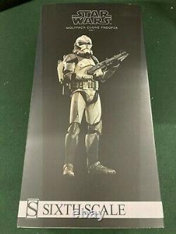 Sideshow Star Wars 104th Battalion Wolfpack Clone Trooper 1/6 Scale Figure