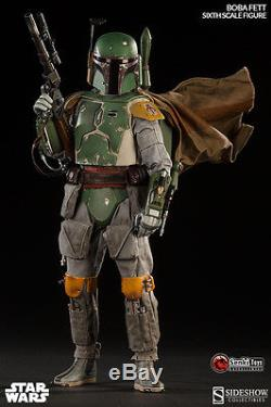 Sideshow Star Wars BOBA FETT Scum and Villainy t 16 Scale Figure