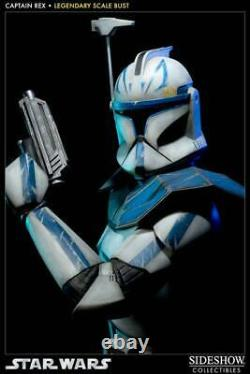 Sideshow Star Wars Captain Rex Legendary Scale Bust Figure World 400 limited