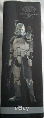 Sideshow Star Wars Clone Commander Wolffe 1/6 Scale Figure The Clone Wars New