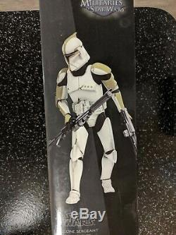 Sideshow Star Wars Clone Sergeant Phase I Armor 16 Scale Figure