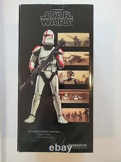 Sideshow Star Wars Clone Trooper Captain 1/6 Scale Action Figure