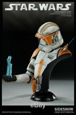 Sideshow Star Wars Commander Cody Legendary Scale Bust Statue Figure Diorama Le