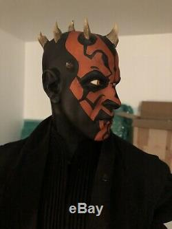 Sideshow Star Wars Darth Maul Legendary Scale Figure Incomplete