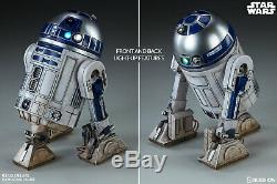 Sideshow Star Wars Disney R2d2 Deluxe Hot Toys Action Figure 1/6 Scale Set New