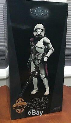 Sideshow Star Wars EXCLUSIVE COMMANDER BACARA Clone Trooper 12 16 scale #21851