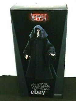 Sideshow Star Wars Emperor Palpatine 12 Figure Brand New 1/6 Scale Sith Master
