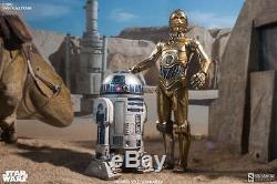 Sideshow Star Wars Episode IV A New Hope C-3PO 1/6 Scale 12 Figure In Stock