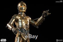 Sideshow Star Wars Episode IV C-3PO Sixth Scale Figure IN STOCK