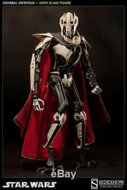 Sideshow Star Wars General Grievous 1/6 Scale 12 Figure 100027 New