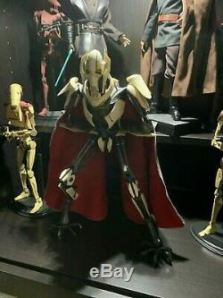 Sideshow Star Wars General Grievous 1/6 Scale Figure (Used)