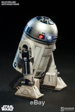 Sideshow Star Wars R2-D2 Deluxe Sixth Scale Figure Droid, Jedi, Sith, C-3PO