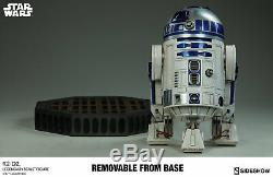Sideshow Star Wars R2-d2 Legendary Scale Figure Brand New Sold Out 22 Tall Rare
