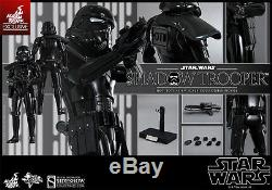 Sideshow Star Wars SHADOW TROOPER Hot Toys Exclusive 1/6 Scale Figure RARE