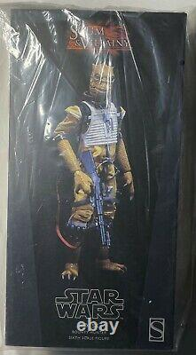Sideshow Star Wars Scum & Villainy BOSSK 16th Scale Action Figure Sealed