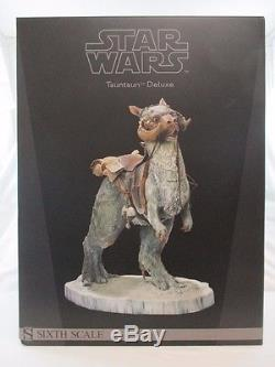 Sideshow Star Wars TAUNTAUN Deluxe Sixth Scale Figure 1/6 Statue withBox ESB