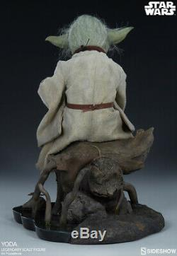 Sideshow Star Wars Yoda Legendary Scale Figure Statue Bust Diorama Maquette Le